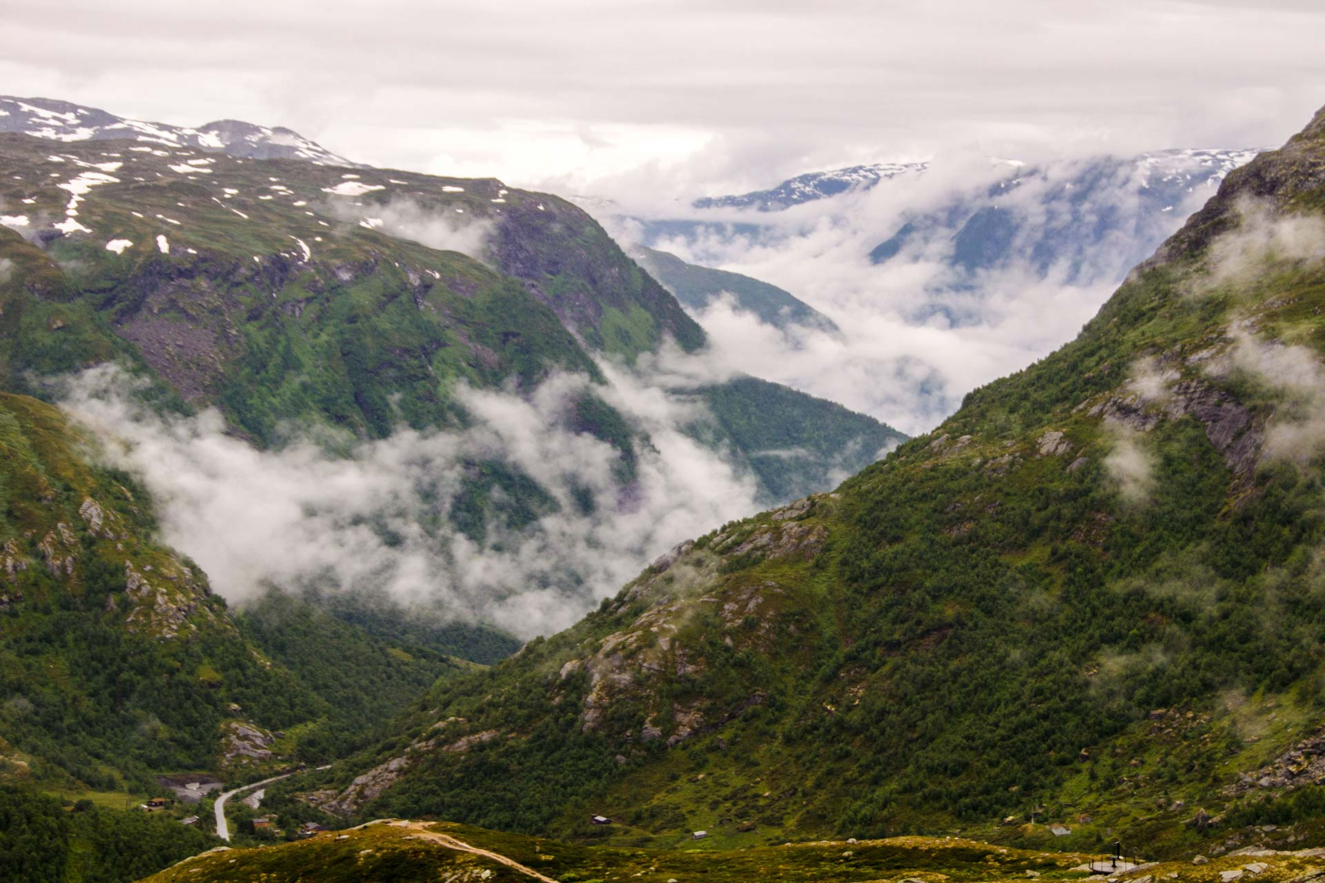Skandinavien - Fjell im Hochland