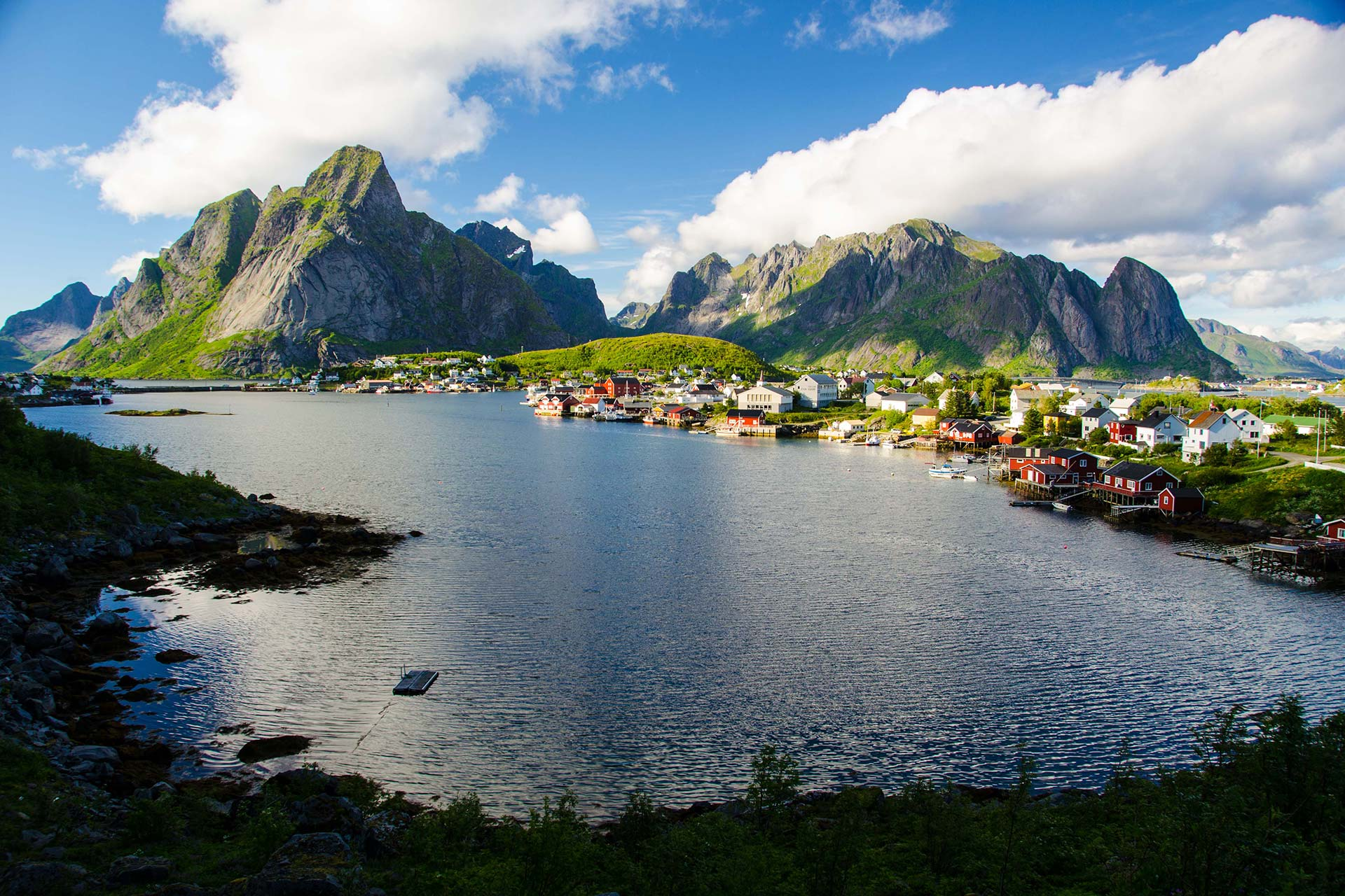 Skandinavien - Reine auf den Lofoten