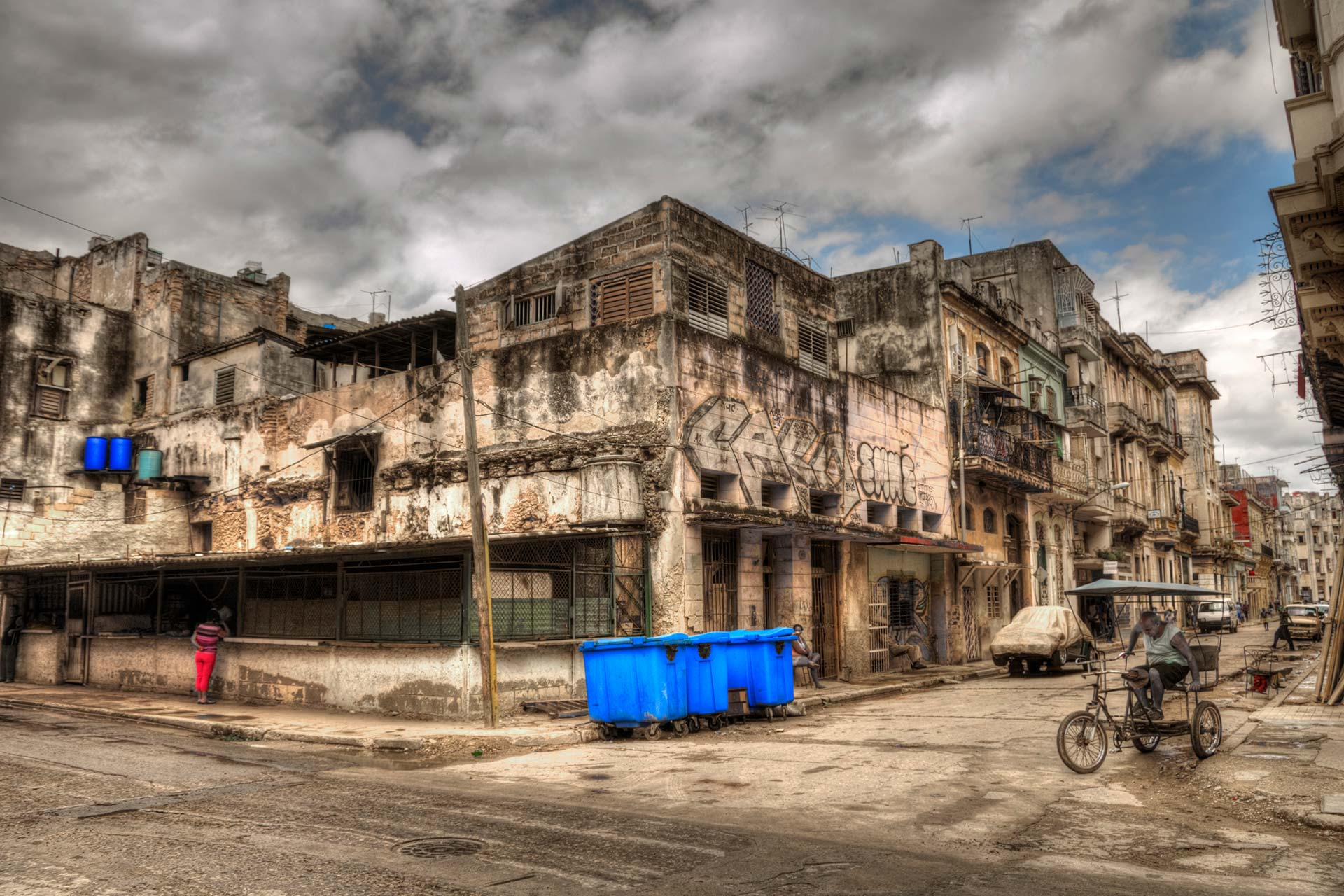 Reisefotografie - Havana Vieja, Kuba.