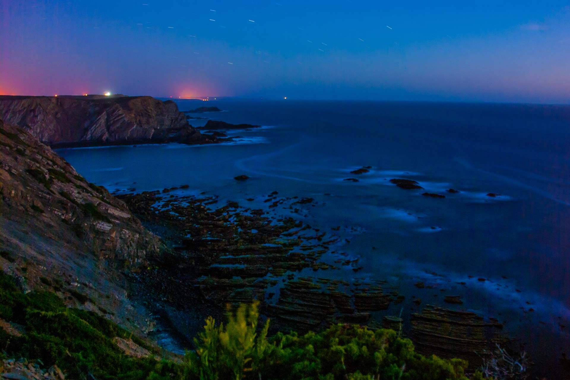 Nachtfotografie - Küste Algarve