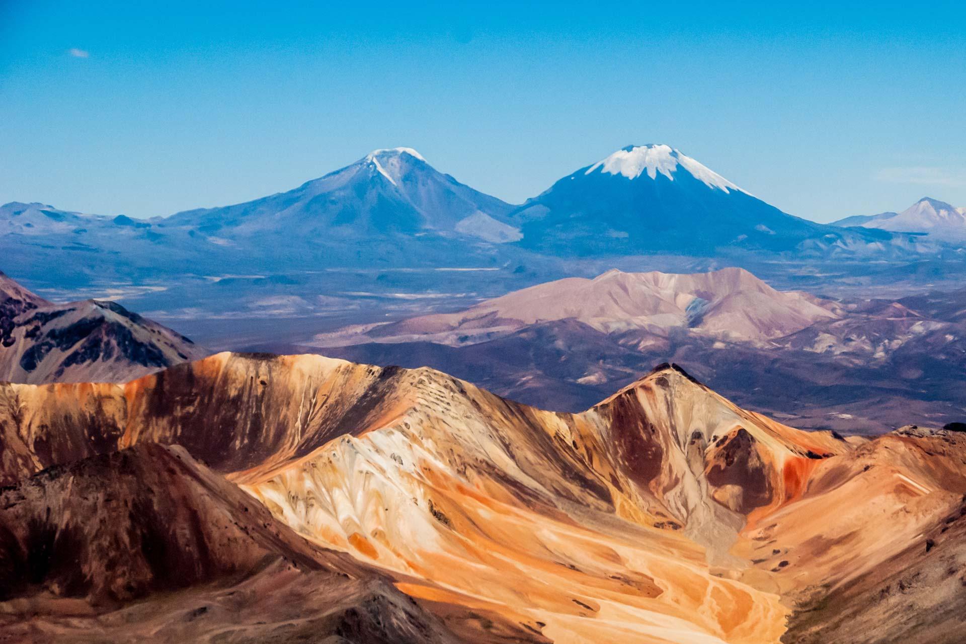 Landschaftsfotografie - Berge der Atacama