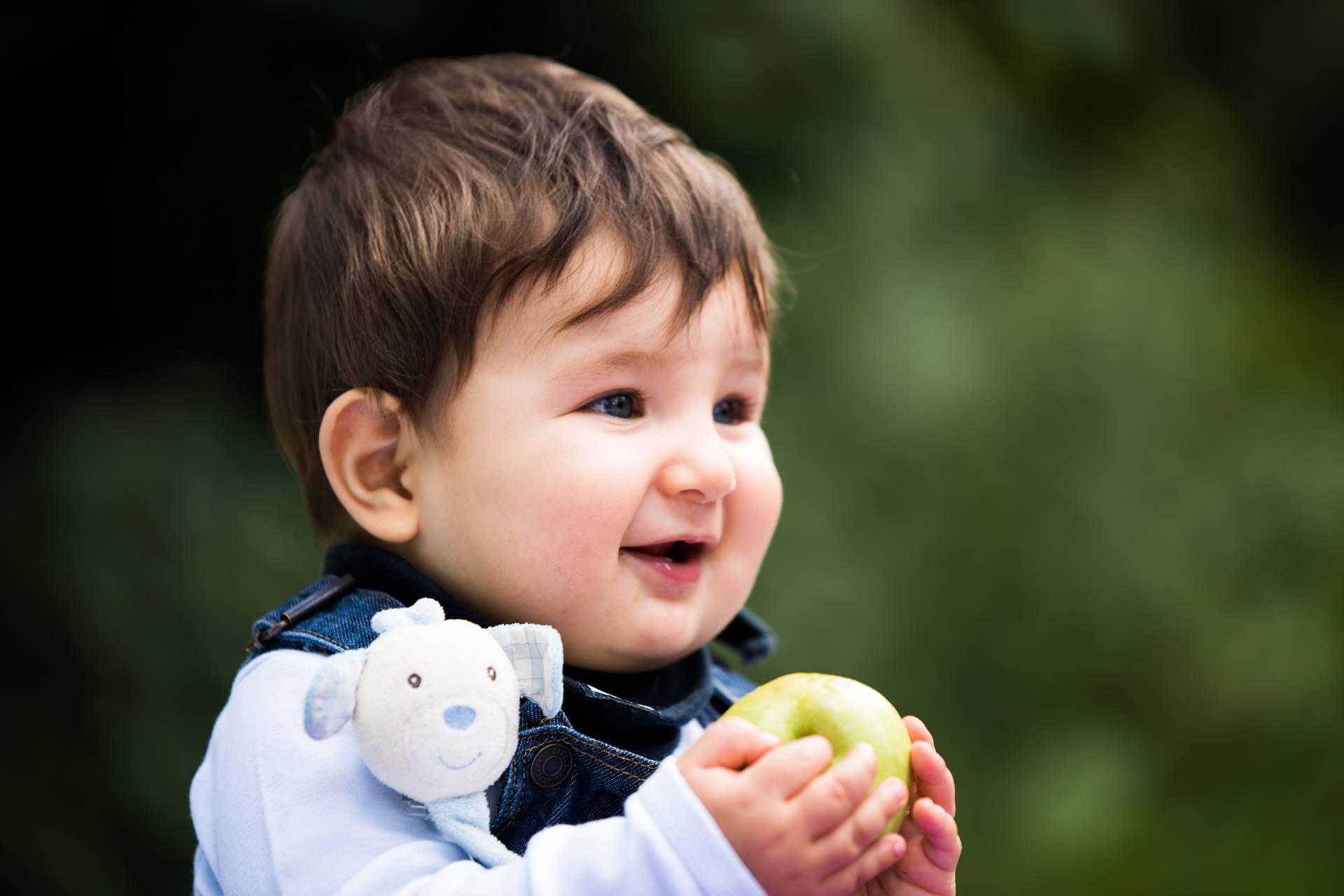 Portraitfotografie - Lächelndes Baby