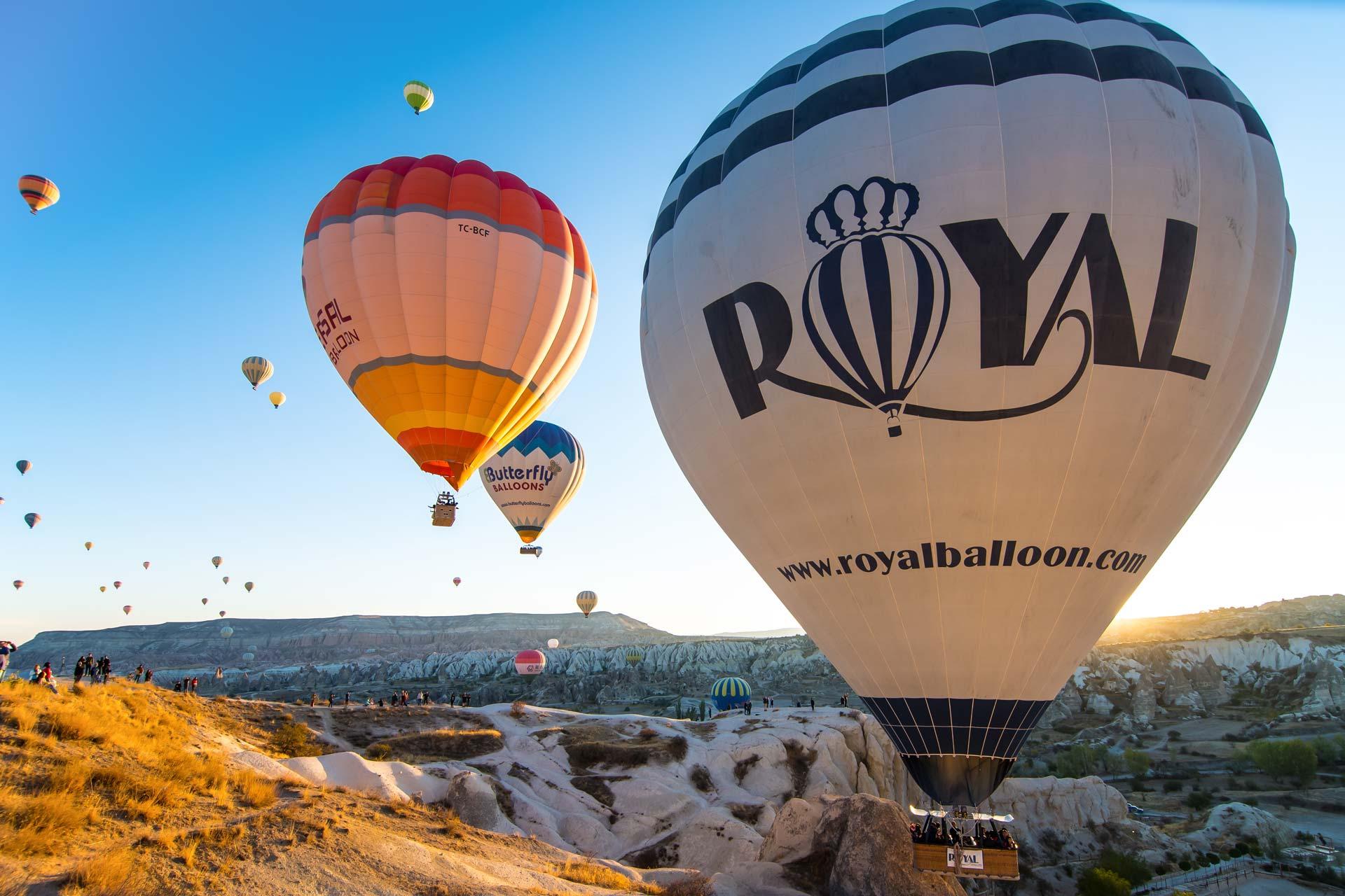 Reisefotografie - Nahaufnahme Ballons