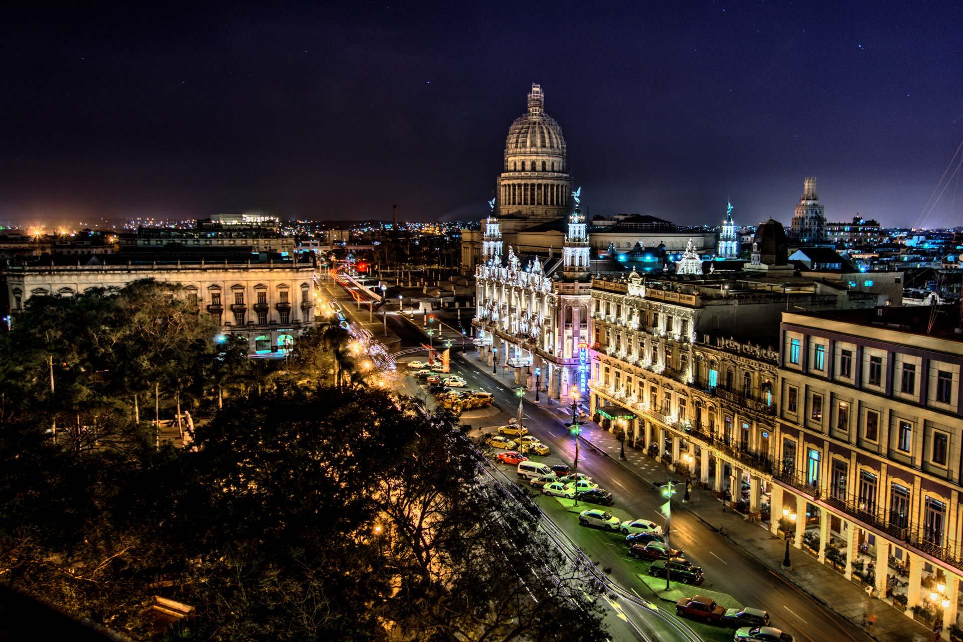 Reisefotografie - Havanna bei Nacht