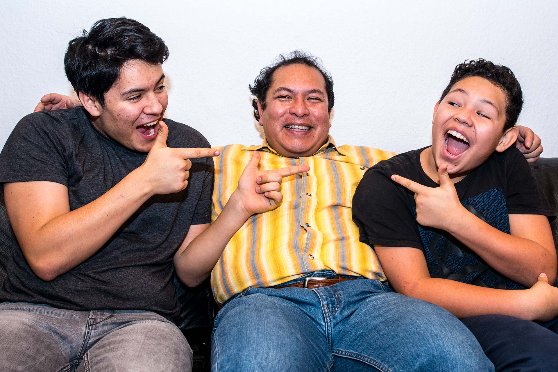 Portraitfotografie - Familengruppe
