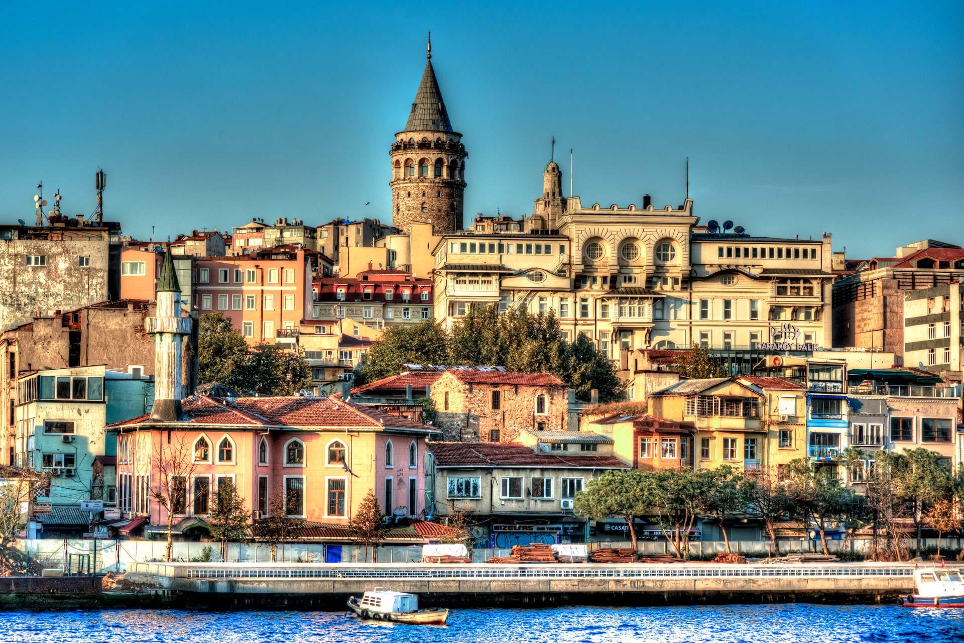 Reisefotografie - Galatayturm Istanbul