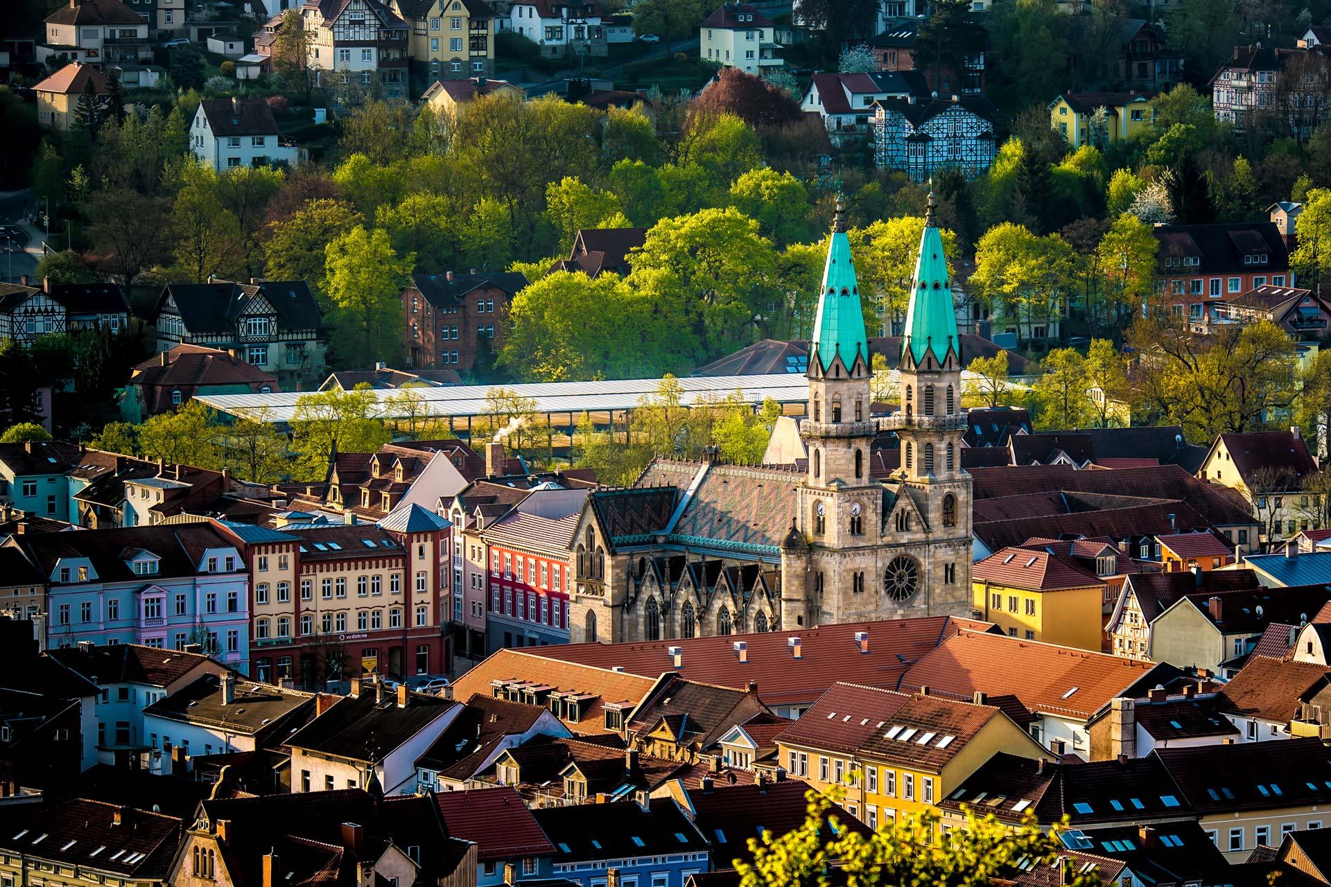 Landschaftsfotografie - Kirche Meiningen