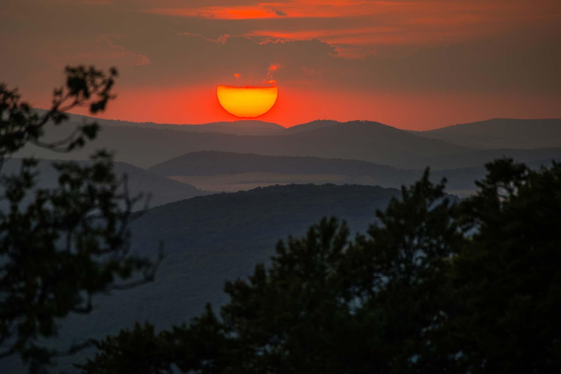 Landschaftsfotografie - Sonnenuntergang