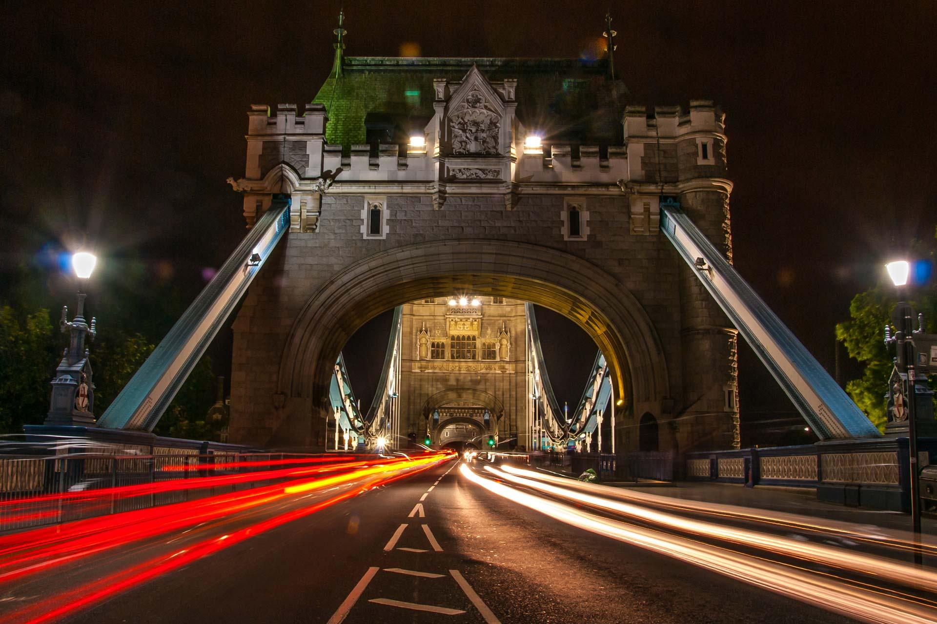 Nachtfotografie - Towerbridge