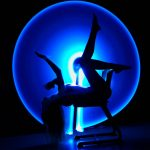 Light Painting - Blauer Kreis