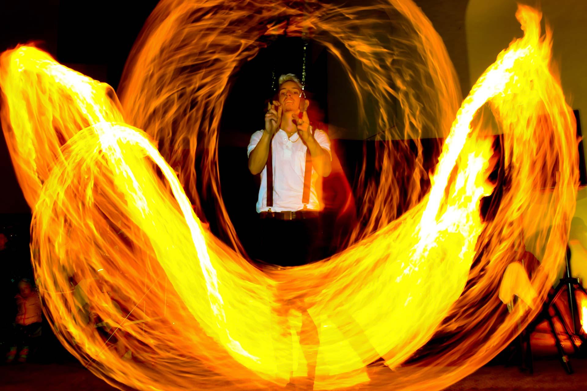Light Painting - Feuerspiel