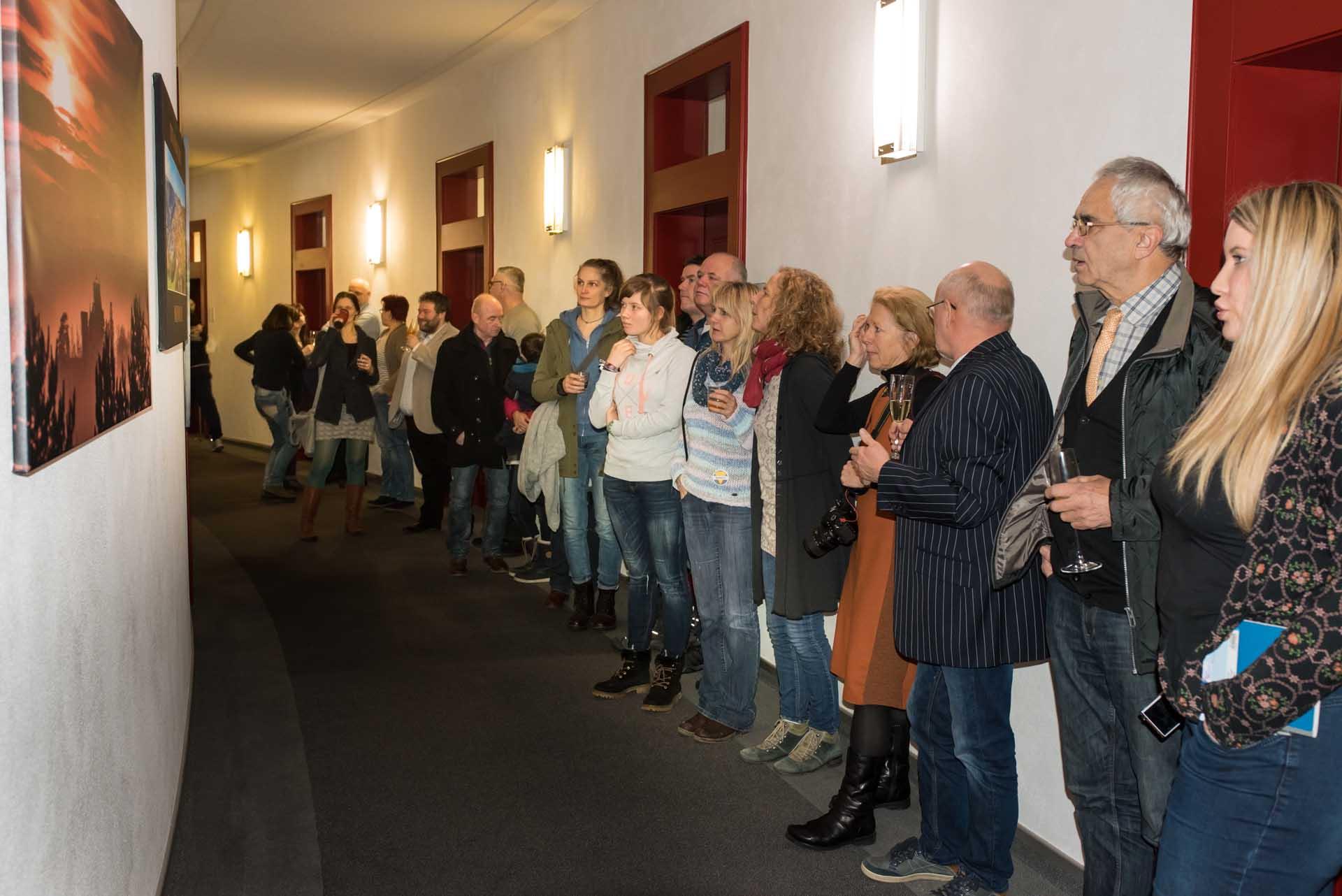 Vernissage mit Bürgermeister in Meiningen